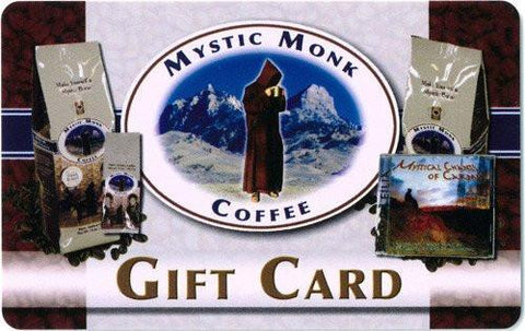 Electronic Gift Card, Gifts - Mystic Monk Coffee