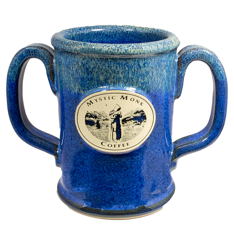 Northern Lights Double Handled Mug, Mug - Mystic Monk Coffee