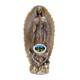 Our Lady of Guadalupe Statue, Statues - Mystic Monk Coffee