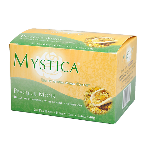 Peaceful Monk, Tea - Mystic Monk Coffee