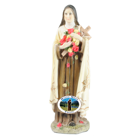 Saint Therese Statue, Statues - Mystic Monk Coffee