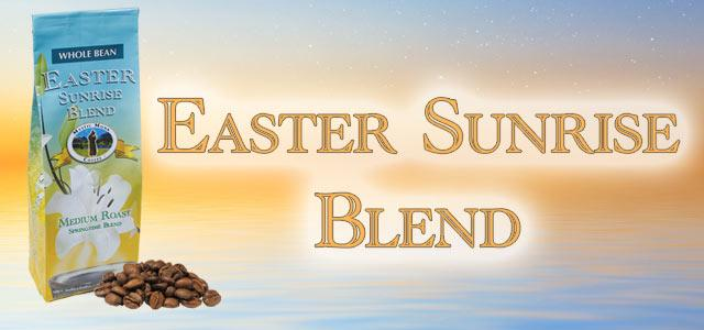 Easter Sunrise Blend Roasted Coffee Banner