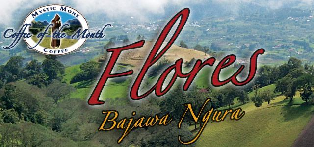 Flores Roasted Coffee Banner - Mystic Monk Coffee