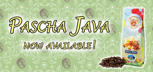 Pascha Java Roasted Coffee Banner