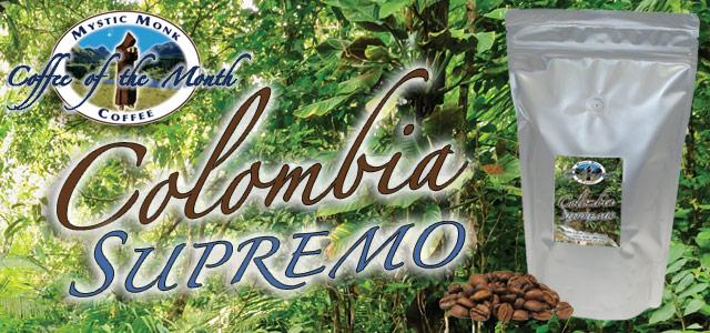 Colombia Tolia Roasted Coffee Banner - Mystic Monk Coffee