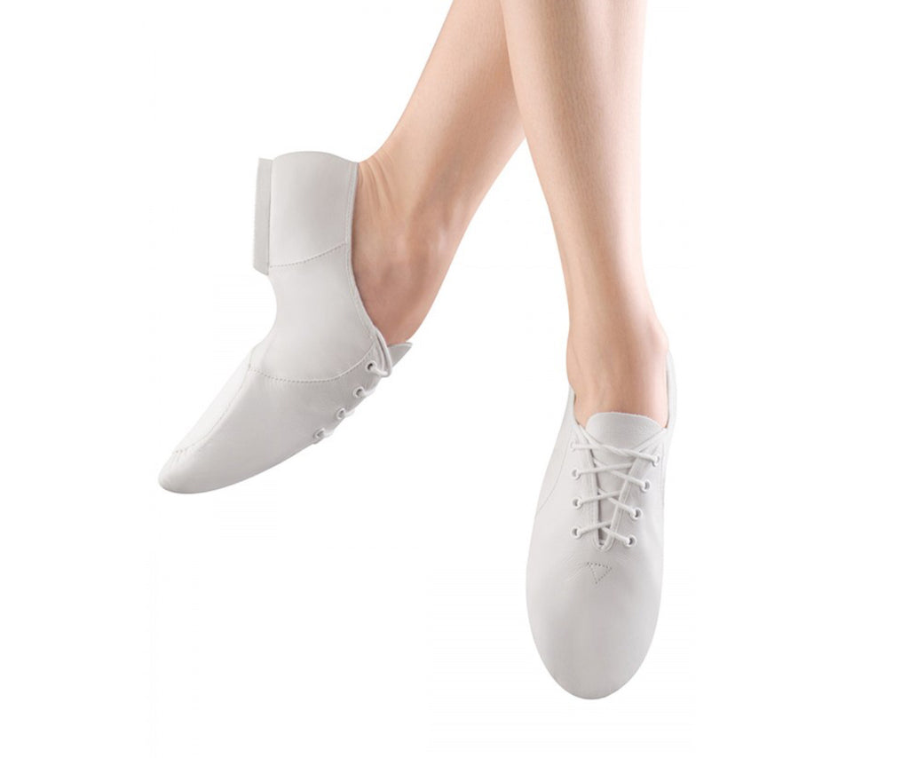 Bloch white Jazz shoes ( jazzsoft )