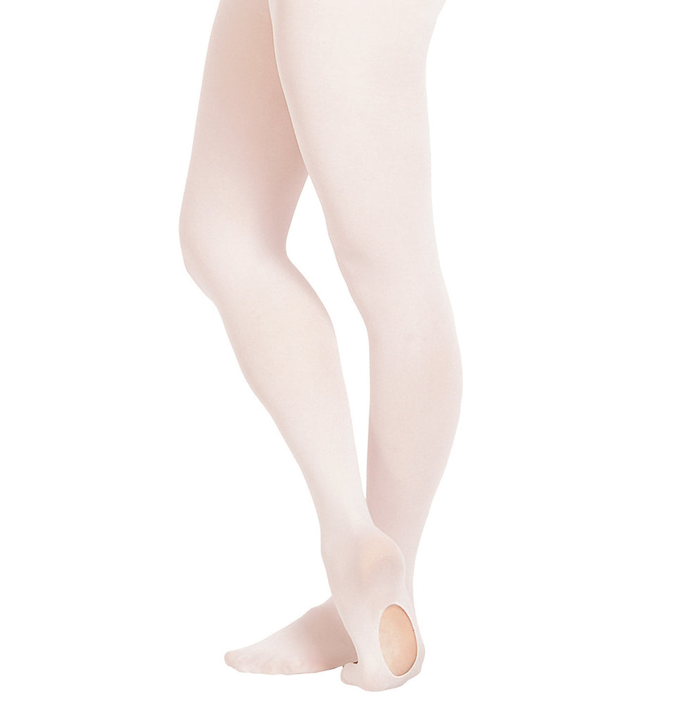 Bloch Girls Pink Covertible Tights