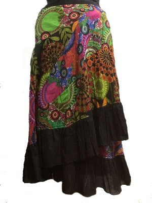 Hippie Gypsy Wrap Skirt/FREE SHIPPING TODAY