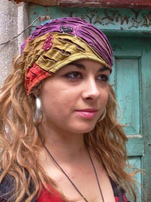 Hippie Music Festival Razor Cut Bandana/FREE SHIPPING TODAY