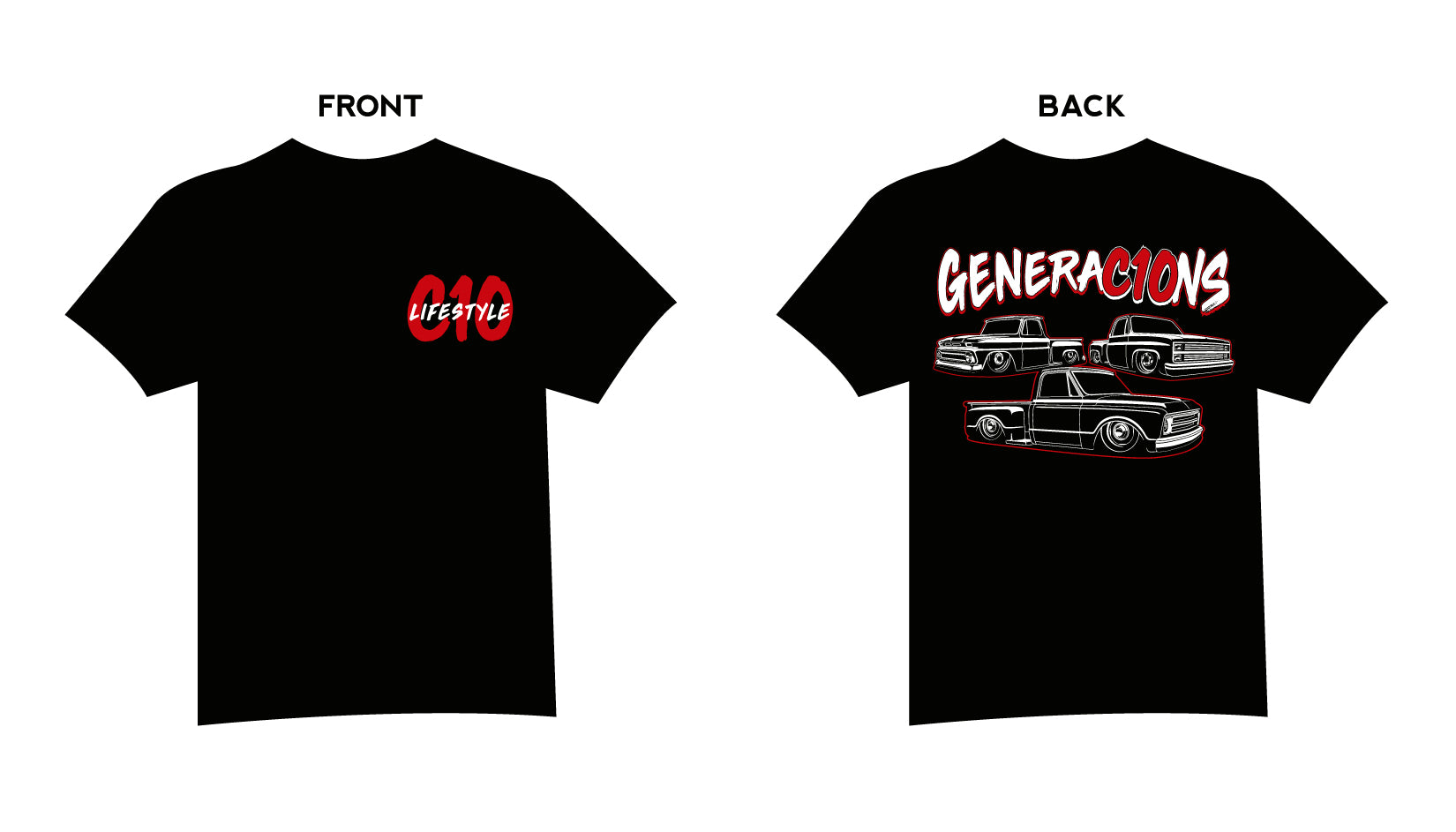 C10 Lifestyle Generations Stepsides shirt