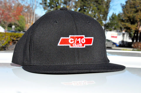 black flexfit c10 club hat
