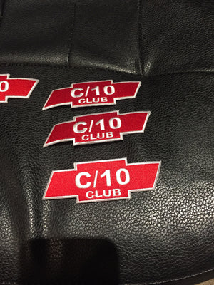 Original C10 Club patches