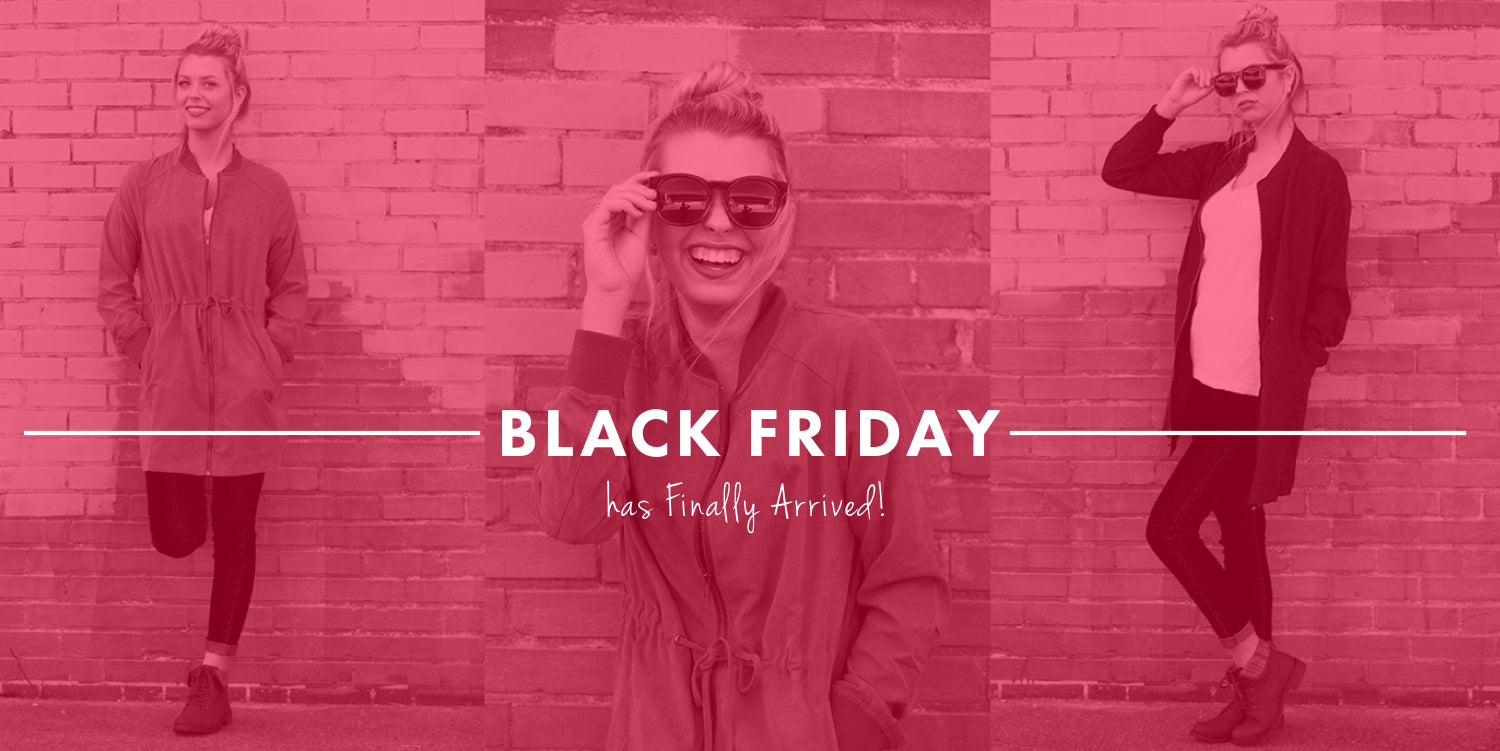 Black Friday has finally arrived: Shop Now!