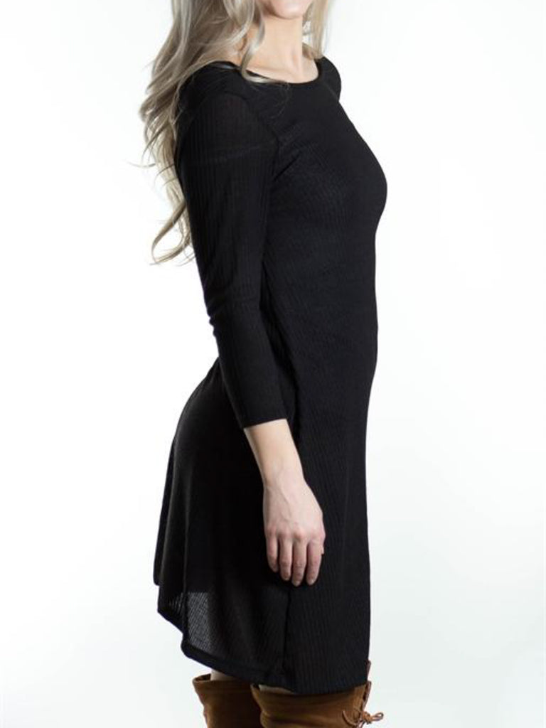 Allison Avery - V Back Sweater Tunic - Free Shipping Over $50