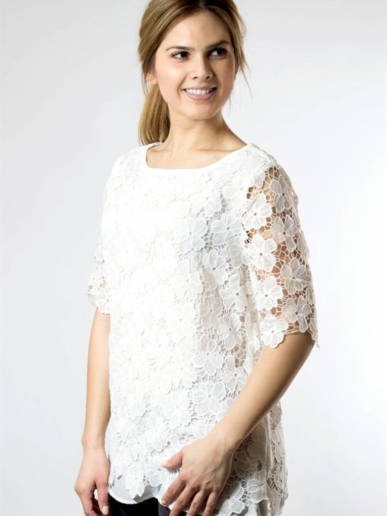 Allison Avery - Stunning Floral Blouse - Free Shipping Over $50