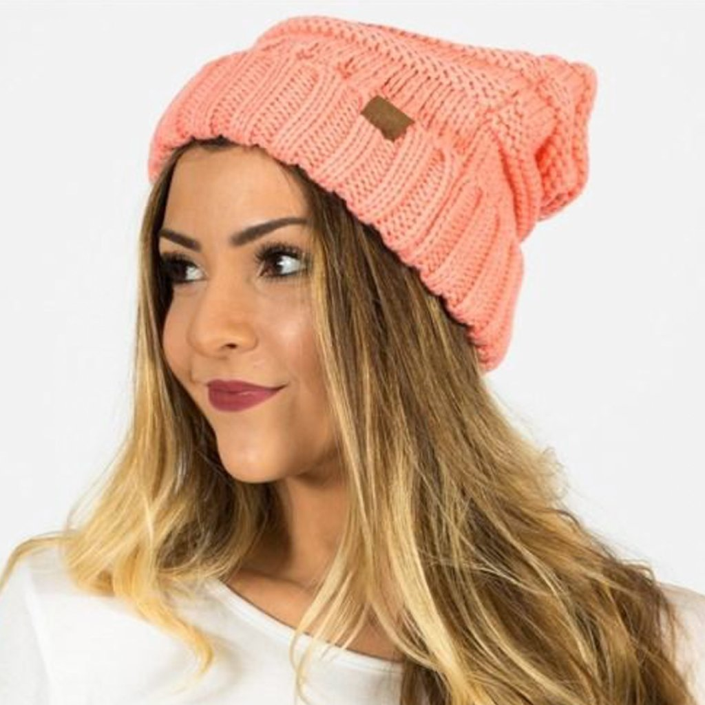 Allison Avery - Chunky Knit Beanie - Free Shipping Over $50