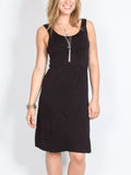 Allison Avery - Cinch Waist Tank Dress - Free Shipping Over $50