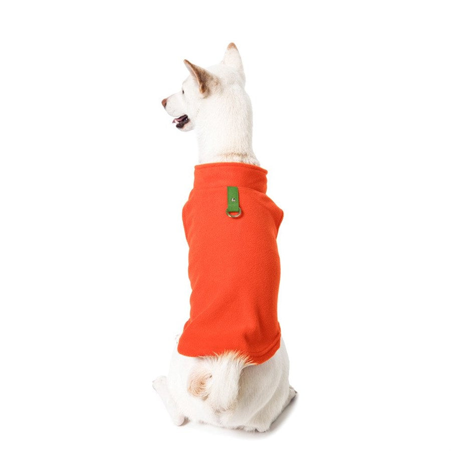 Fleece Dog Vest W/ Leash Attachment