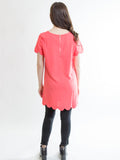 Allison Avery - Scallop Hem Tunic - Free Shipping Over $50