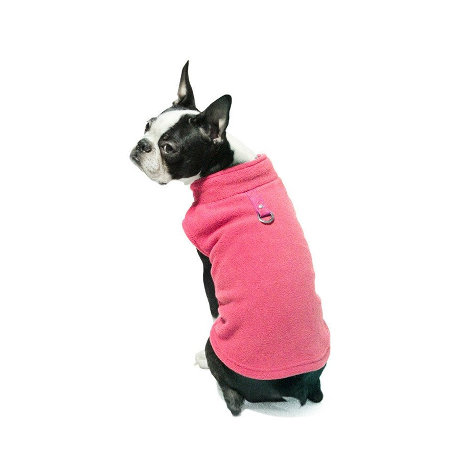 Allison Avery - Fleece Dog Vest W Leash Attachment - Free Shipping Over $50