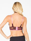 Allison Avery - Padded Bow Lace Bralette - Free Shipping Over $50