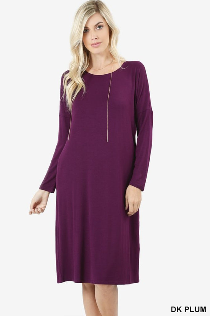 Allison Avery - Versatile Pocket Dress - Free Shipping Over $50