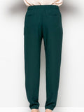 Allison Avery - Skinny Belted Trousers - Free Shipping Over $50