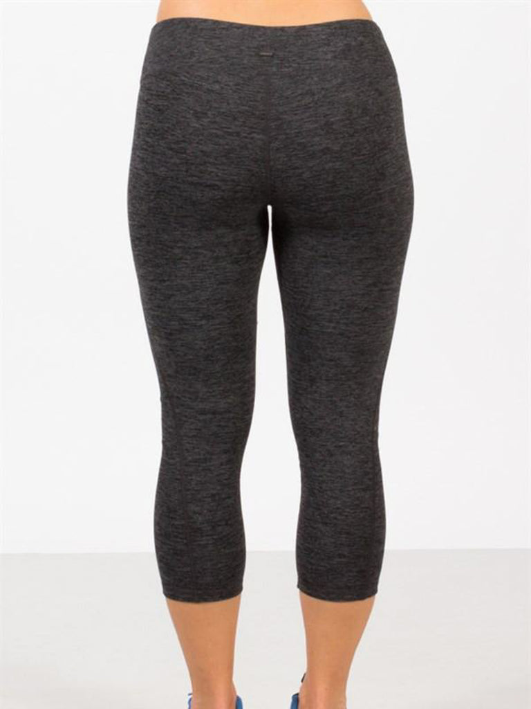 Allison Avery - Basic Athletic Crop Leggings - Free Shipping Over $50