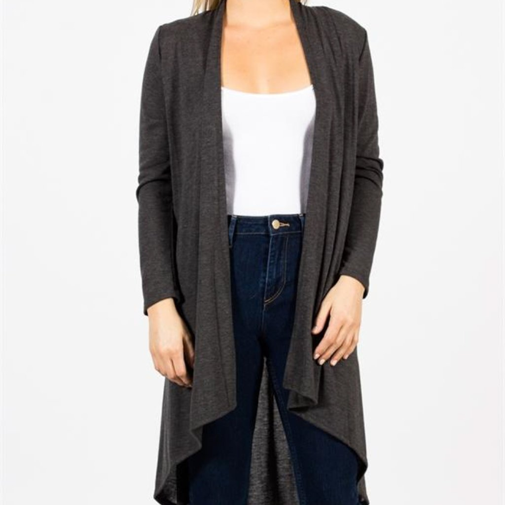 Allison Avery - Long Fall Cardigan - Free Shipping Over $50