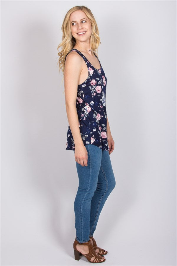 Everyday Floral Tank