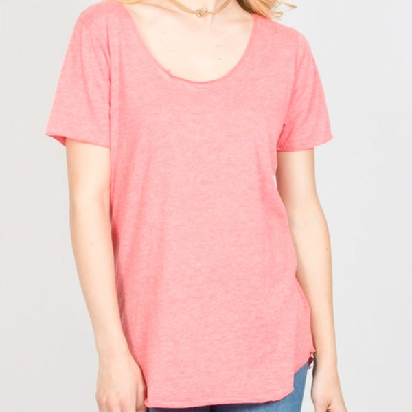 Allison Avery - Scoop Neck Tee - Free Shipping Over $50