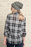 Allison Avery - Favorite Flannel Top - Free Shipping Over $50