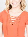 Allison Avery - Tie Up Tunic - Free Shipping Over $50