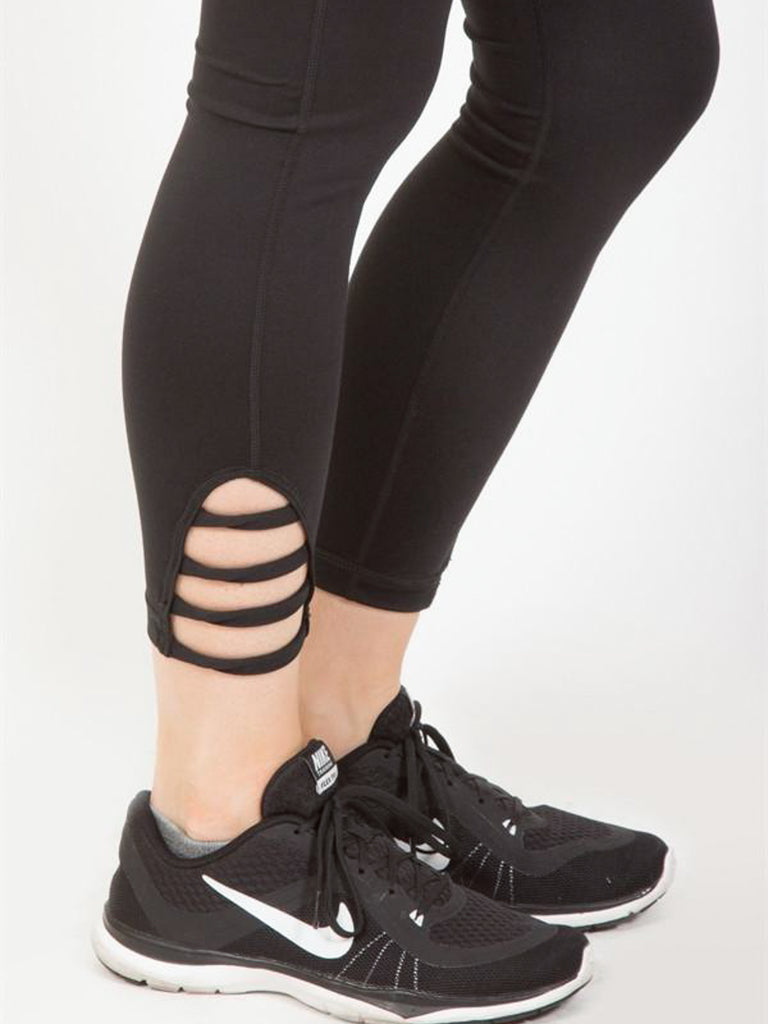 Ankle Strap Leggings