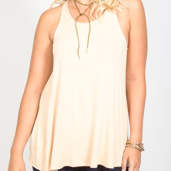 Allison Avery - Gathered Back Tank - Free Shipping Over $50