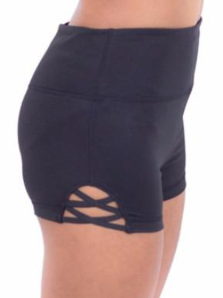 Crisscross Workout Shorts