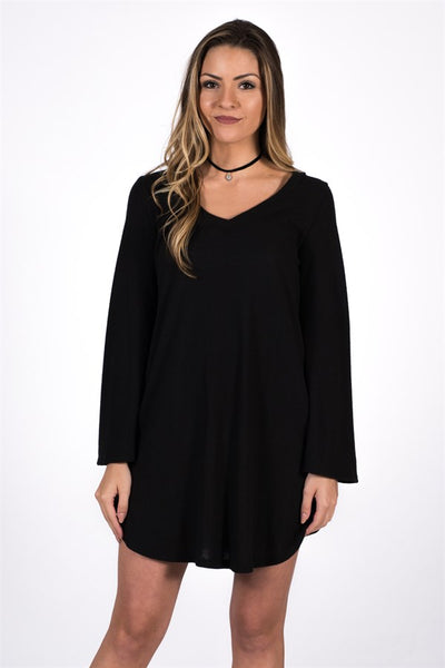 Bell Sleeve Sweater Tunic