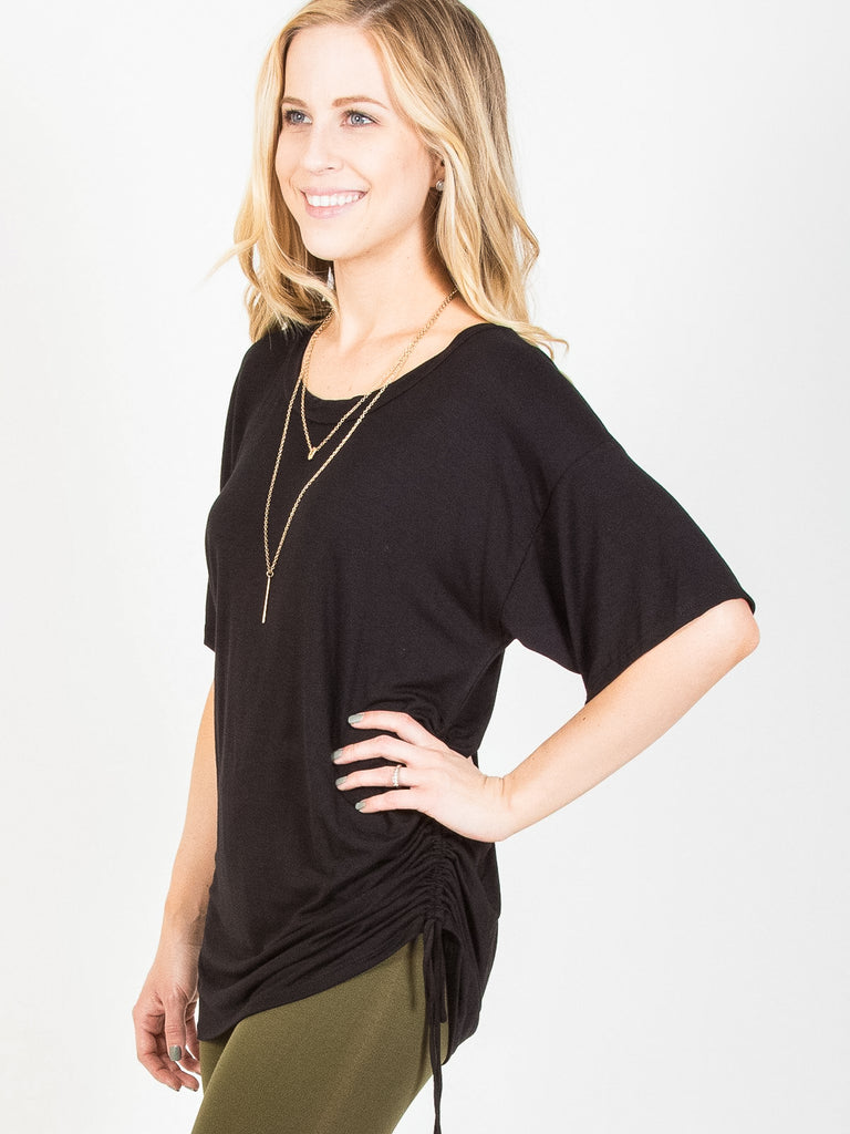 Allison Avery - Cinch Waist Dolman - Free Shipping Over $50