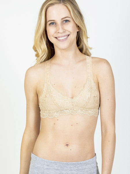 Allison Avery - Lined Lightweight Bralette - Free Shipping Over $50
