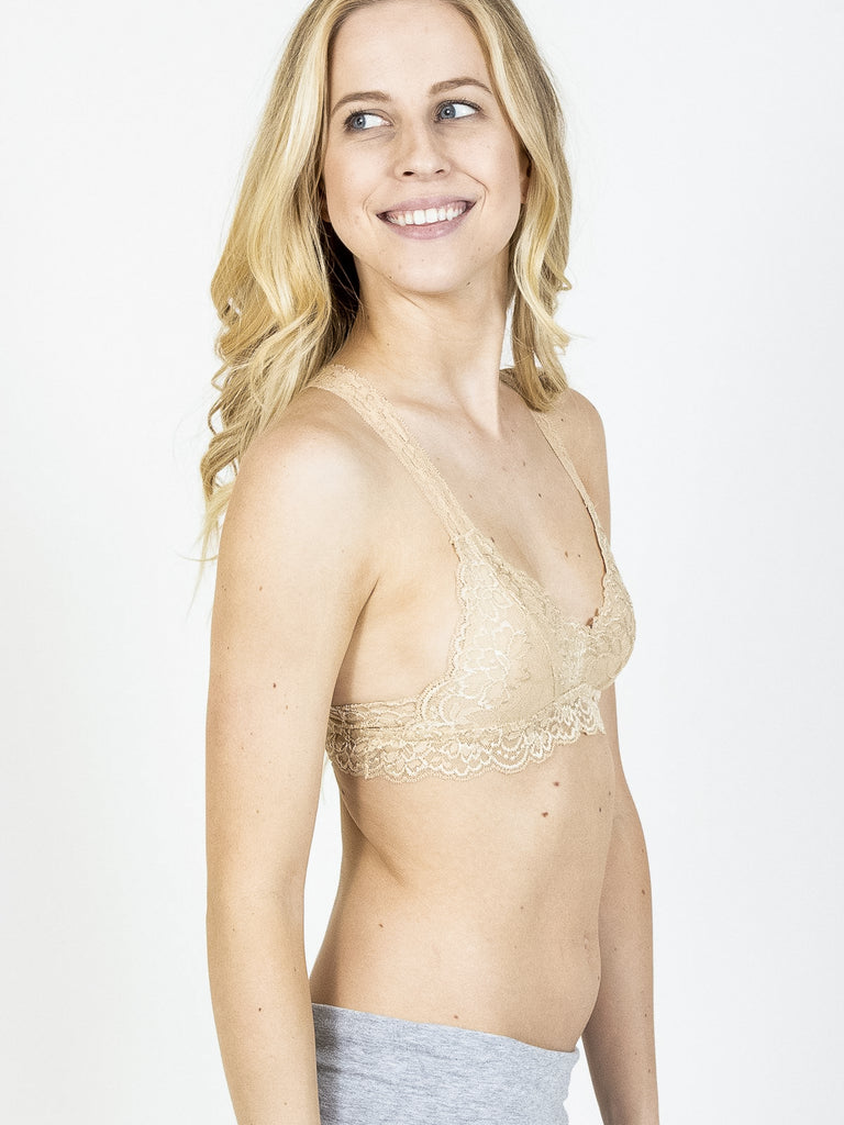 Allison Avery - Lightweight Bralette - Free Shipping Over $50