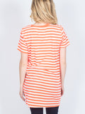 Allison Avery - Striped Tunic - Free Shipping Over $50