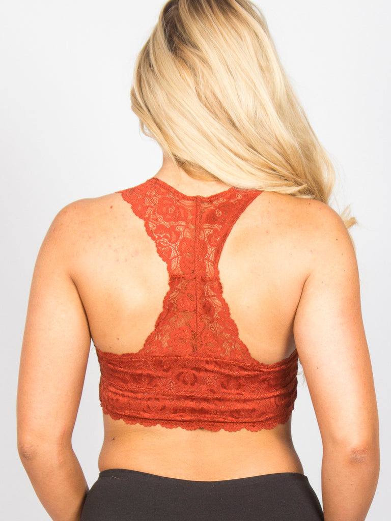 Allison Avery - Lace Bralette - Free Shipping Over $50
