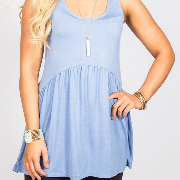 Allison Avery - Babydoll Tank - Free Shipping Over $50