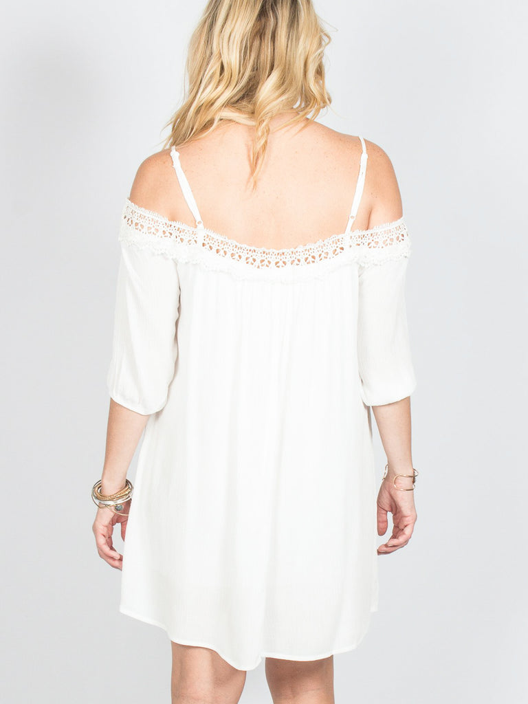 Allison Avery - Lace Trim Dress - Free Shipping Over $50