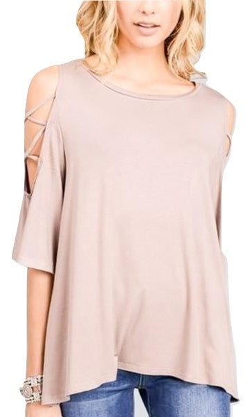 Cross Sleeve Tunic