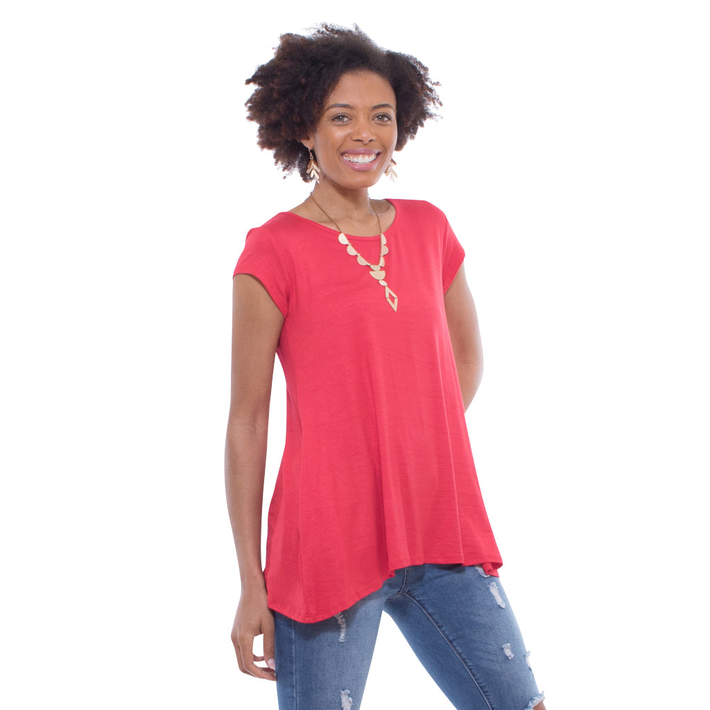 Solid Double Pocket Swing Top