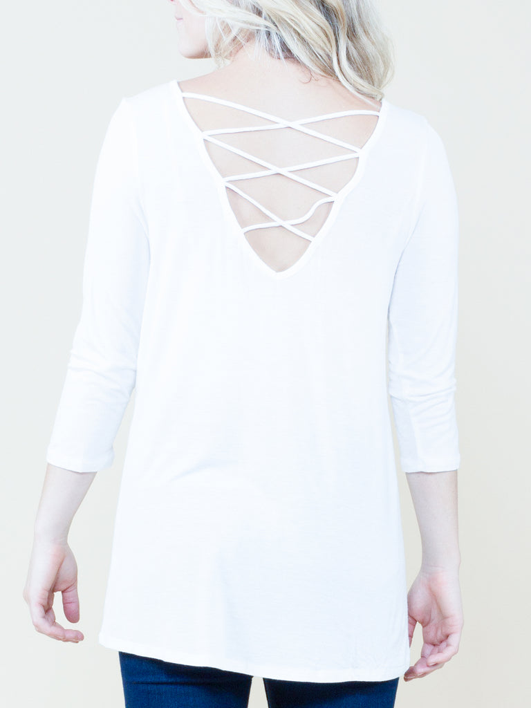 Meet in the Middle Strap Back Top - Free Shipping Over $50 | AllisonAvery.com - 4