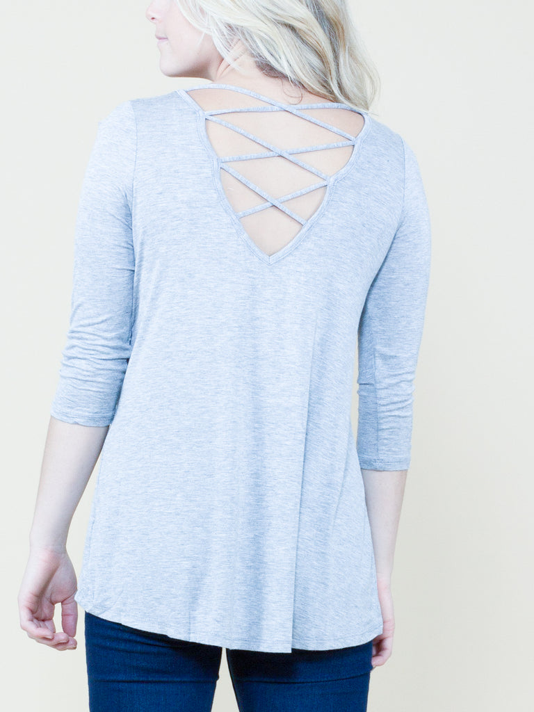 Meet in the Middle Strap Back Top - Free Shipping Over $50 | AllisonAvery.com - 10