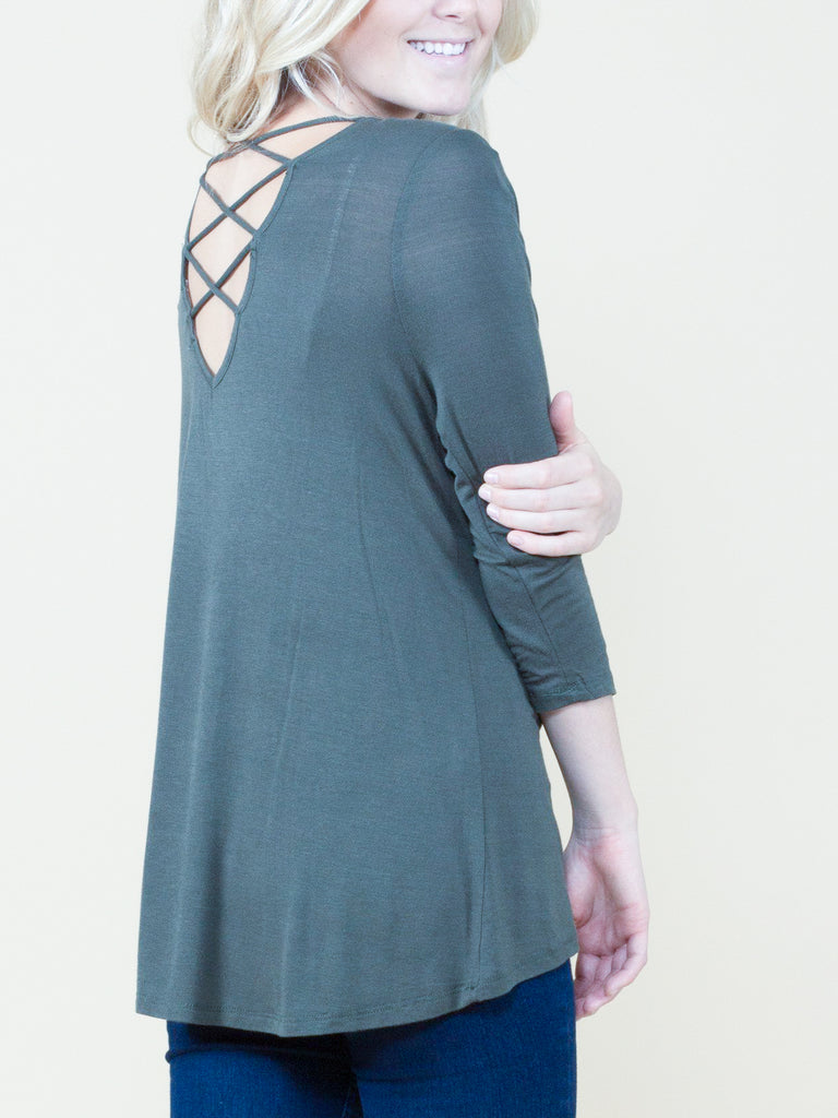 Meet in the Middle Strap Back Top - Free Shipping Over $50 | AllisonAvery.com - 16