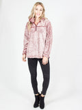 Allison Avery - Two Tone Sherpa Pullover - Free Shipping Over $50
